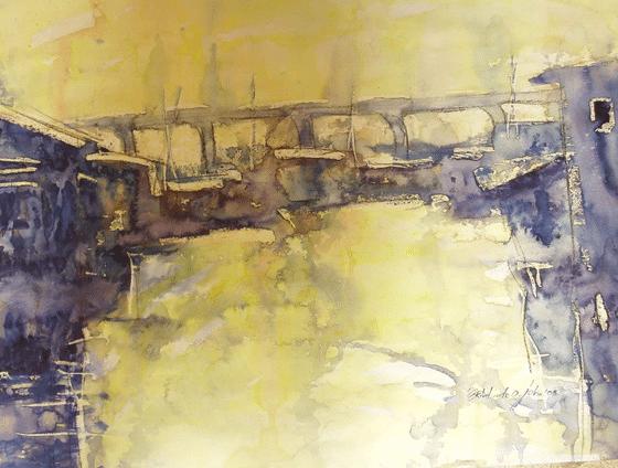 Bridge, midday