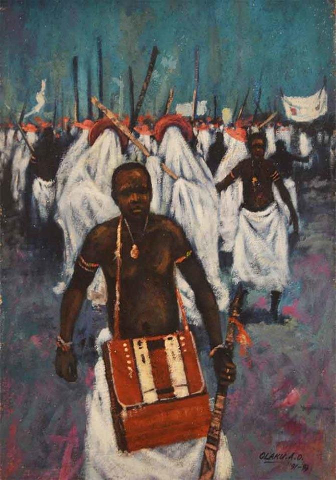 Eyo by Abiodun Olaku