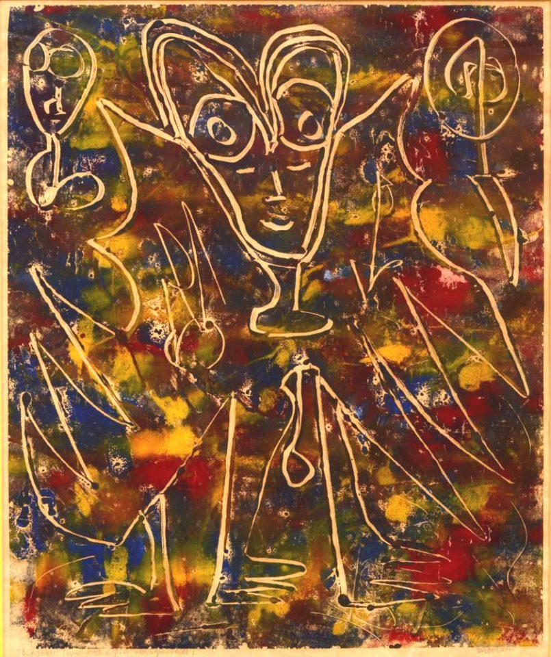 Lajomi (An Oshogbo Masquerade)