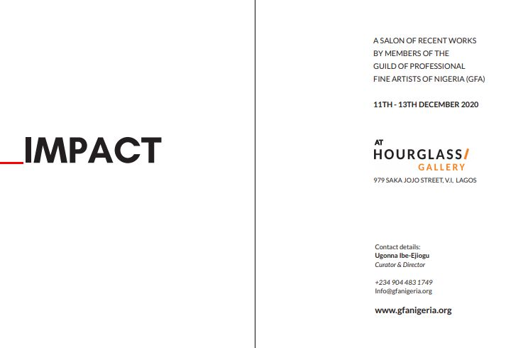 The GFA Exhibition catalogue. Hourglass Gallery