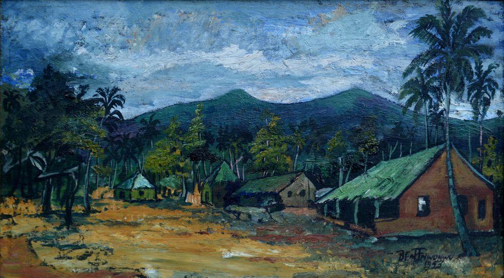 Village near Akure